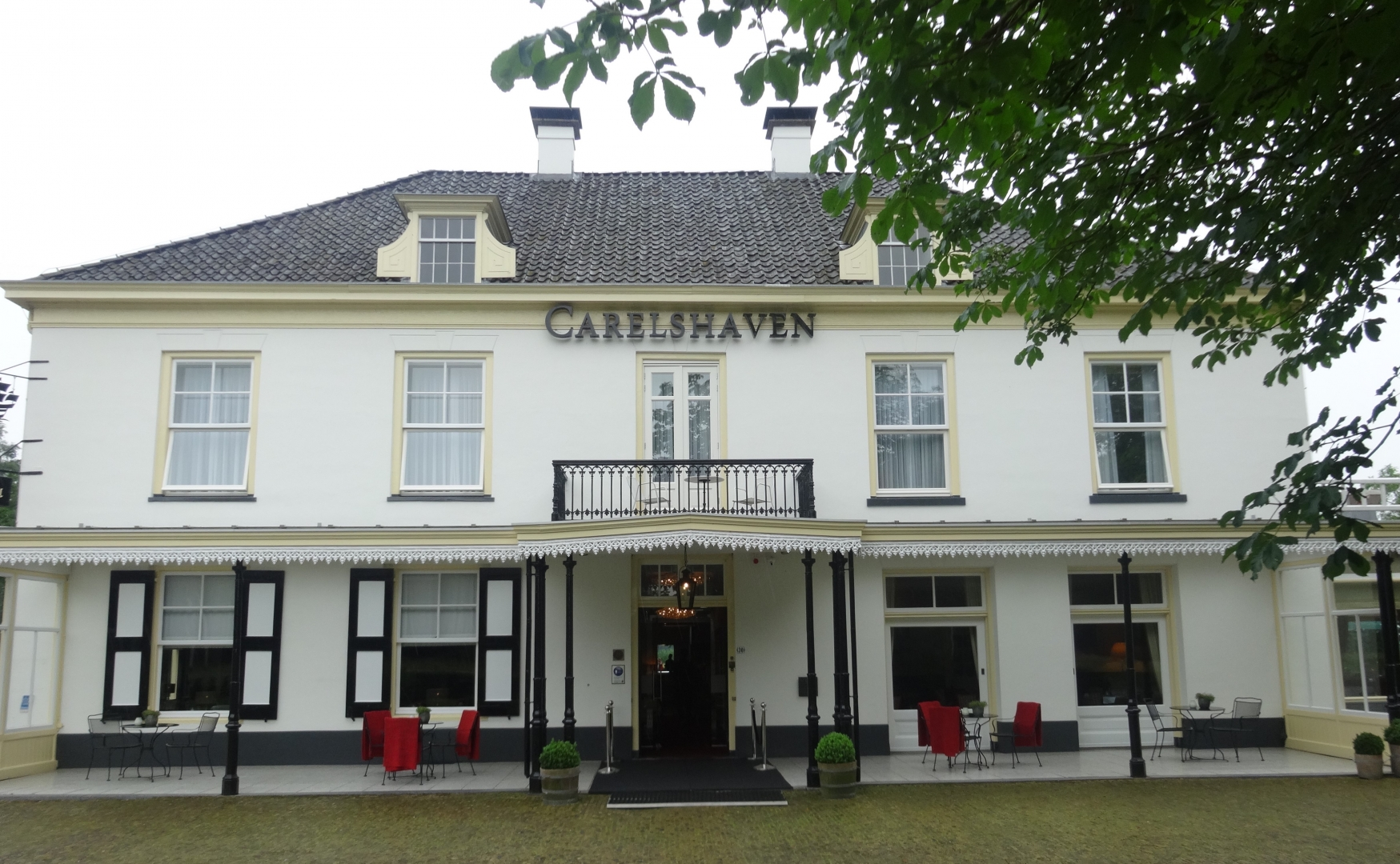 D ner amical bij landgoed hotel restaurant carelshaven for Chaine hotel restaurant