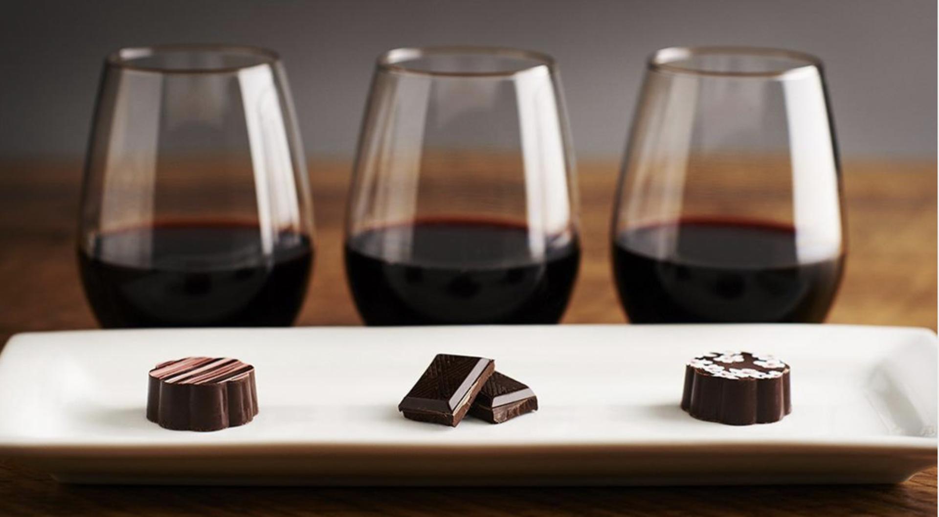 Wijn & Chocolade Proeverij - Virtueel Evenement