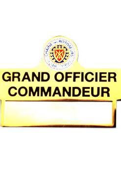 Grand Officier Commandeur
